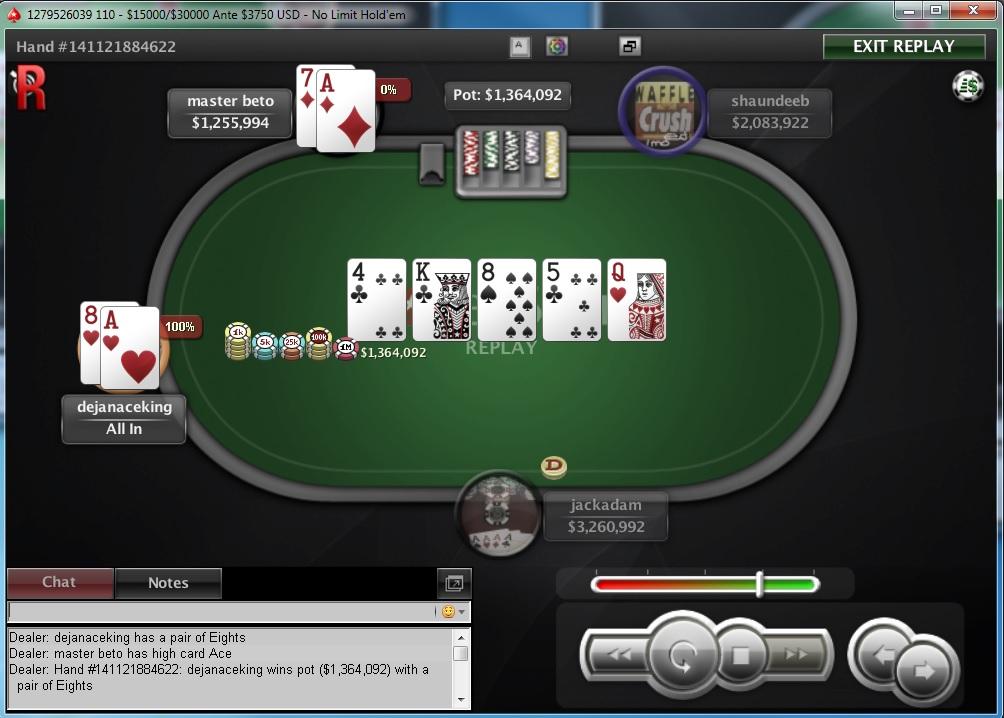 """Nedelja na PokerStarsu: """"dejanaceking"""" Najuspešniji, """"andrej2511"""" Runner up na Sunday... 105"""
