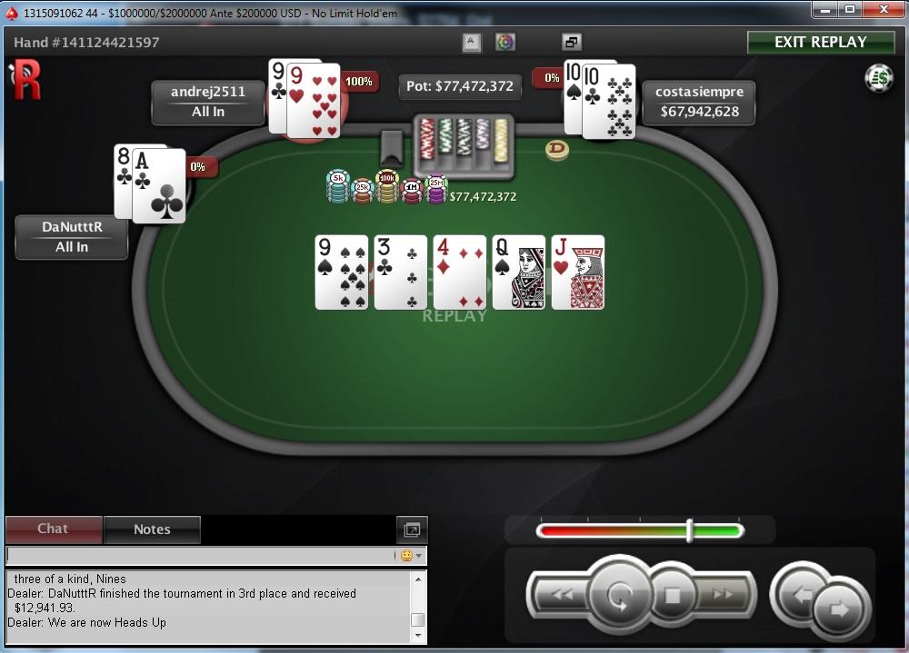 """Nedelja na PokerStarsu: """"dejanaceking"""" Najuspešniji, """"andrej2511"""" Runner up na Sunday... 114"""