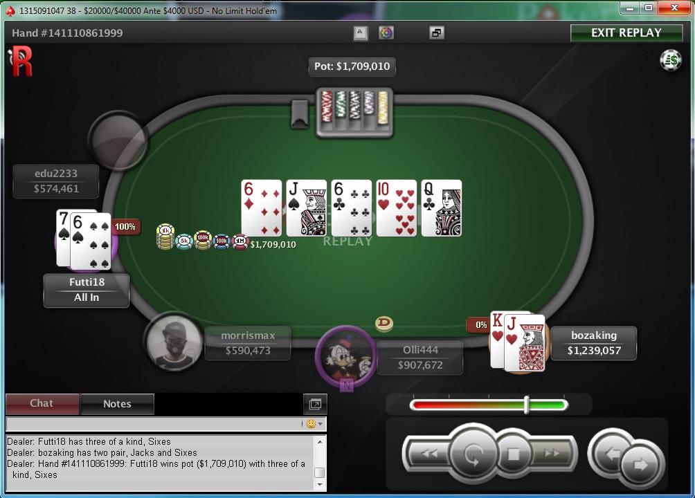 """Nedelja na PokerStarsu: """"dejanaceking"""" Najuspešniji, """"andrej2511"""" Runner up na Sunday... 121"""