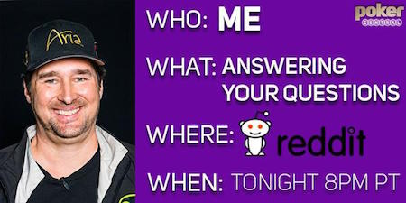 Highlights from Phil Hellmuth's Reddit Ask Me Anything (AMA) Interview 101