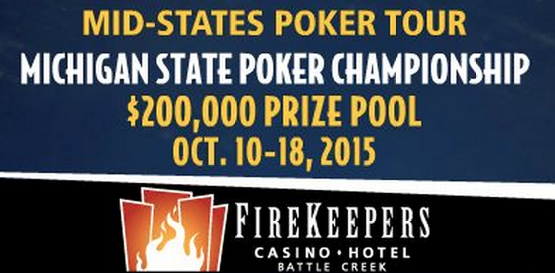 Mid-States Poker Tour to Host Michigan State Poker Championship from Oct. 10-18 101