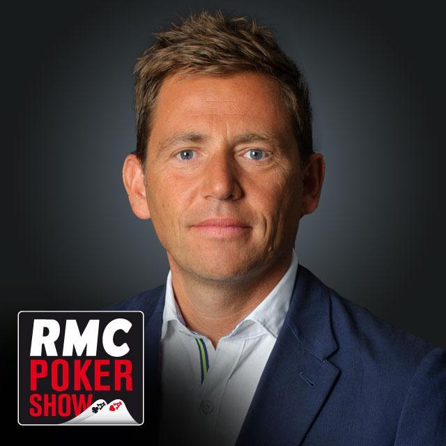 Daniel Riolo, animateur du RMC Poker Show