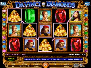 Online slotsDa Vinci Diamonds
