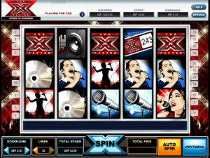 X Factor Slots - Try this Online Game for Free Now