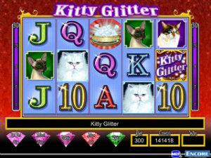 Kitty Glitter online slots free