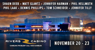 Poker Night in America Headed to Pittsburgh's Rivers Casino from November 20-23 102