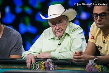 Poker legend, Doyle Brunson
