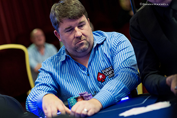 2003 World Series of Poker Main Event champion, Chris Moneymaker