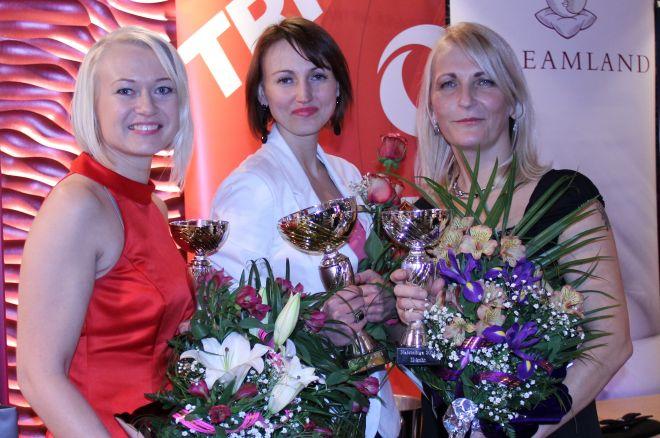 Eesti naiste pokkeriliiga 2014 parimad