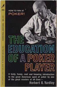 PokerNews Book Review: The Education of a Poker Player by Jim McManus 102