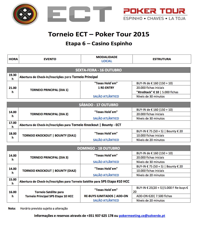 Etapa 6 ECT Poker Tour 16 a 18 de Outubro em Espinho 101
