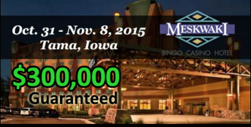 Season 6 of Mid-States Poker Tour Continues with 0,000 GTD at Meskwaki Casino 101