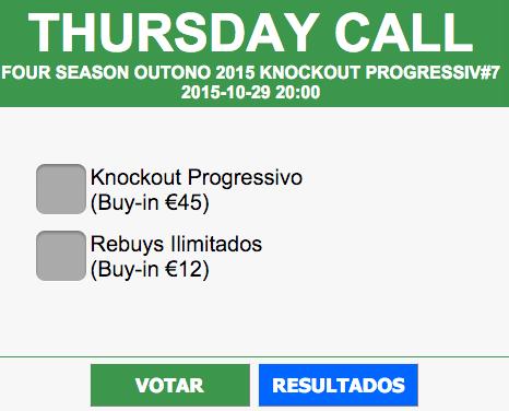 Thursday Call no Casino de Espinho a 29 de Outubro - Vota Já! 101