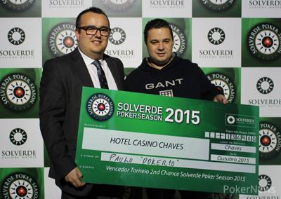 """João """"Megas"""" Silva Vence Main Event da Etapa 10 Solverde Poker Season (€8.086) 102"""