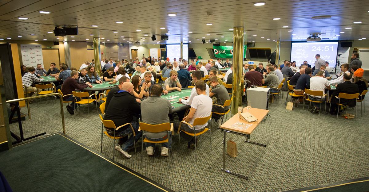 Pafi pokkerikruiisil osales rekordiline arv mängijaid 102