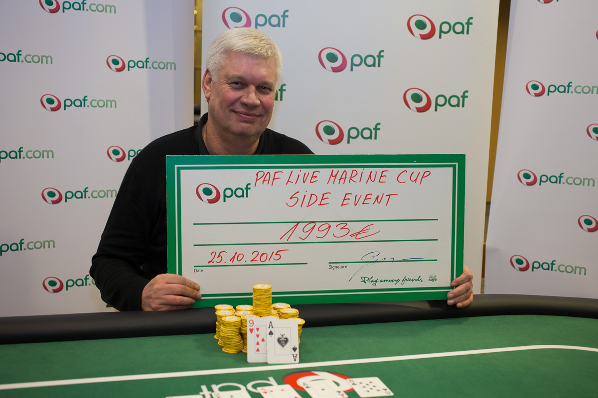 Pafi pokkerikruiisil osales rekordiline arv mängijaid 101