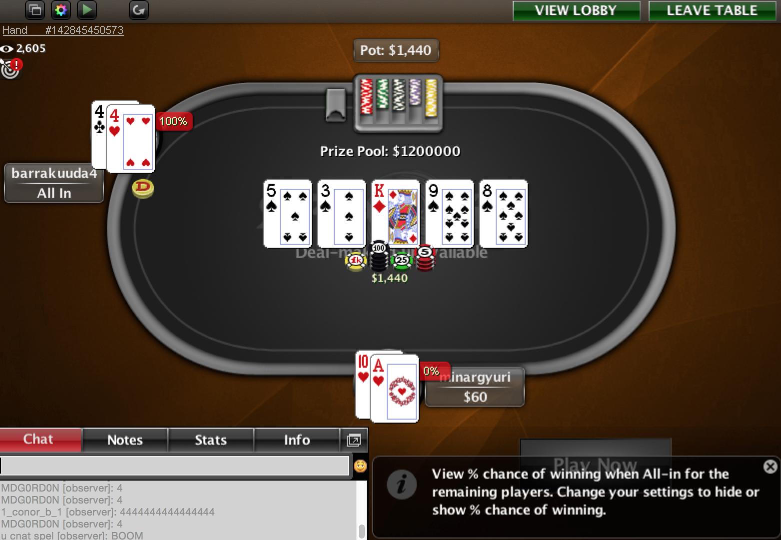 Eesti pokkerimängija võitis miljon dollarit! 101