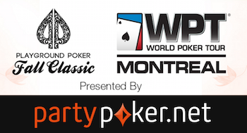 The partypoker.net WPT Montreal Main Event Kicks Off Friday 101