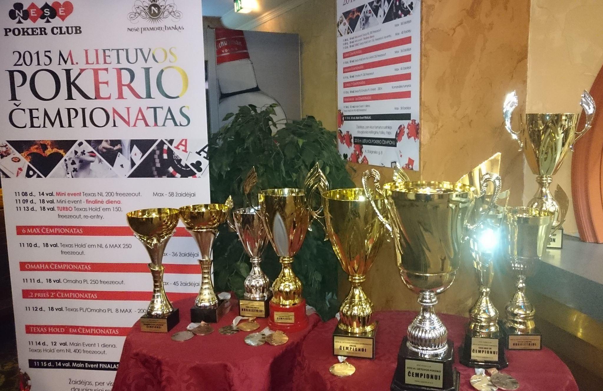 Lietuvos Pokerio čempionato pradžia - jau šį sekmadienį 101
