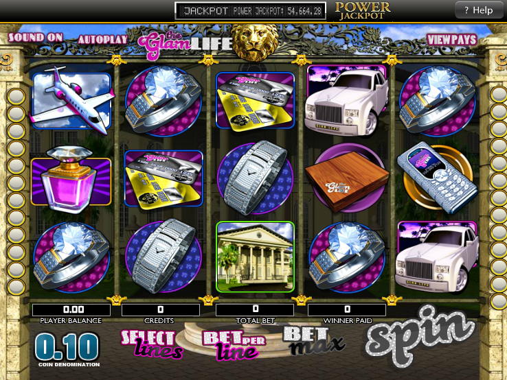 The Glam Life Video Slot