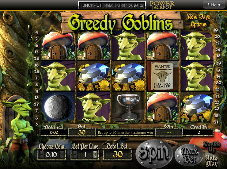 Greedy Goblins Video Slots