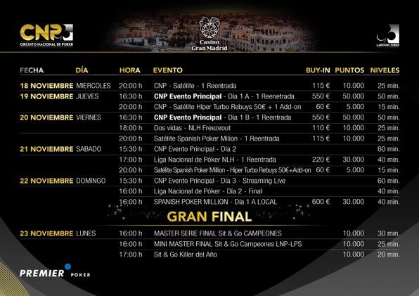 Madrid acoge la Gran Final del Circuito Nacional de Poker 2015 101
