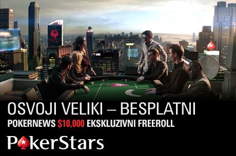 "Stavros ""idolls"" Kalfas Predvodi Finalnih 16 na High Rolleru u Gevgeliji 101"