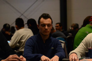 Quentin Lecomte at the PokerNews Cup