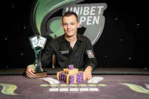 Quentin Lecomte at the Unibet Open