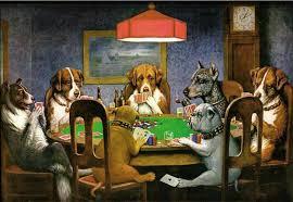 """Kiek vertas C.M.Coolidgo """"Poker Game"""" paveikslas? 101"""