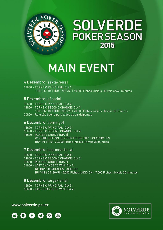 André Moreira Lidera Rumo ao Dia 3 do Main Event Solverde Poker Season 101
