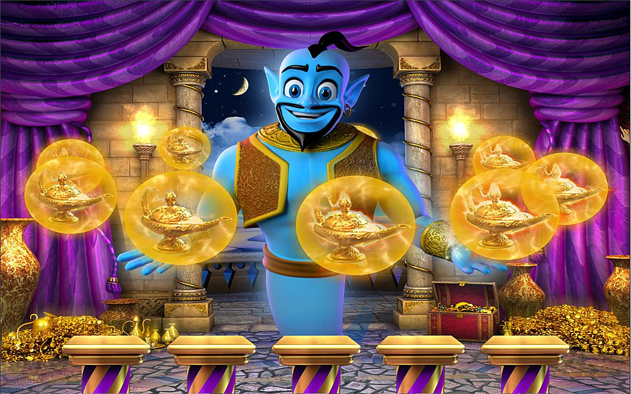 Win up to £2,214,014 at Genie Jackpot