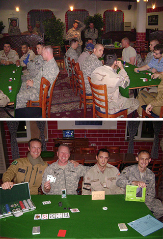 Poker in Afghanistan: Strategy and Tactics at the NATO Base in Kabul 101