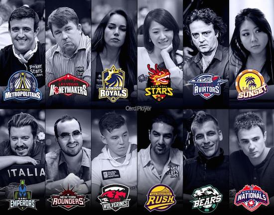 Global Poker League представя капитаните на 12-те отбора за... 101