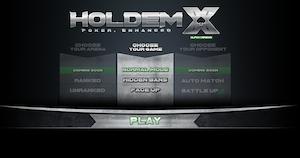 HoldemX Lobby