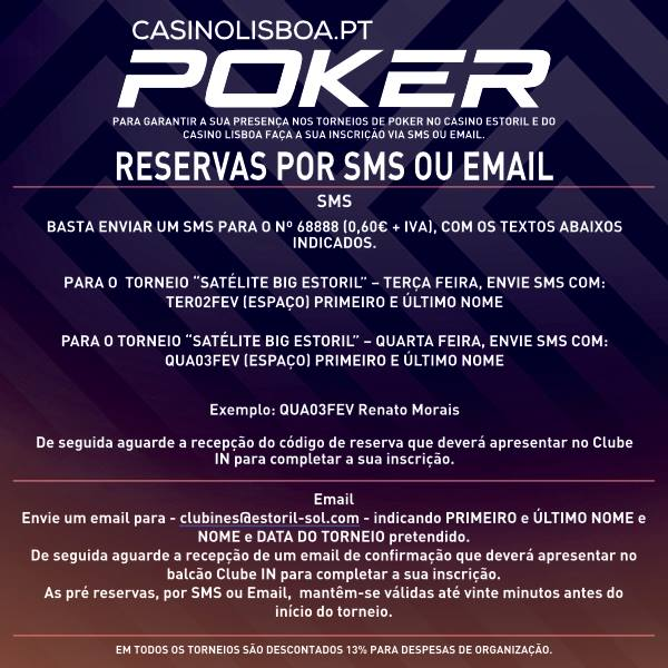 Programação Casino Estoril/Lisboa: Big Estoril Anima a Semana 101
