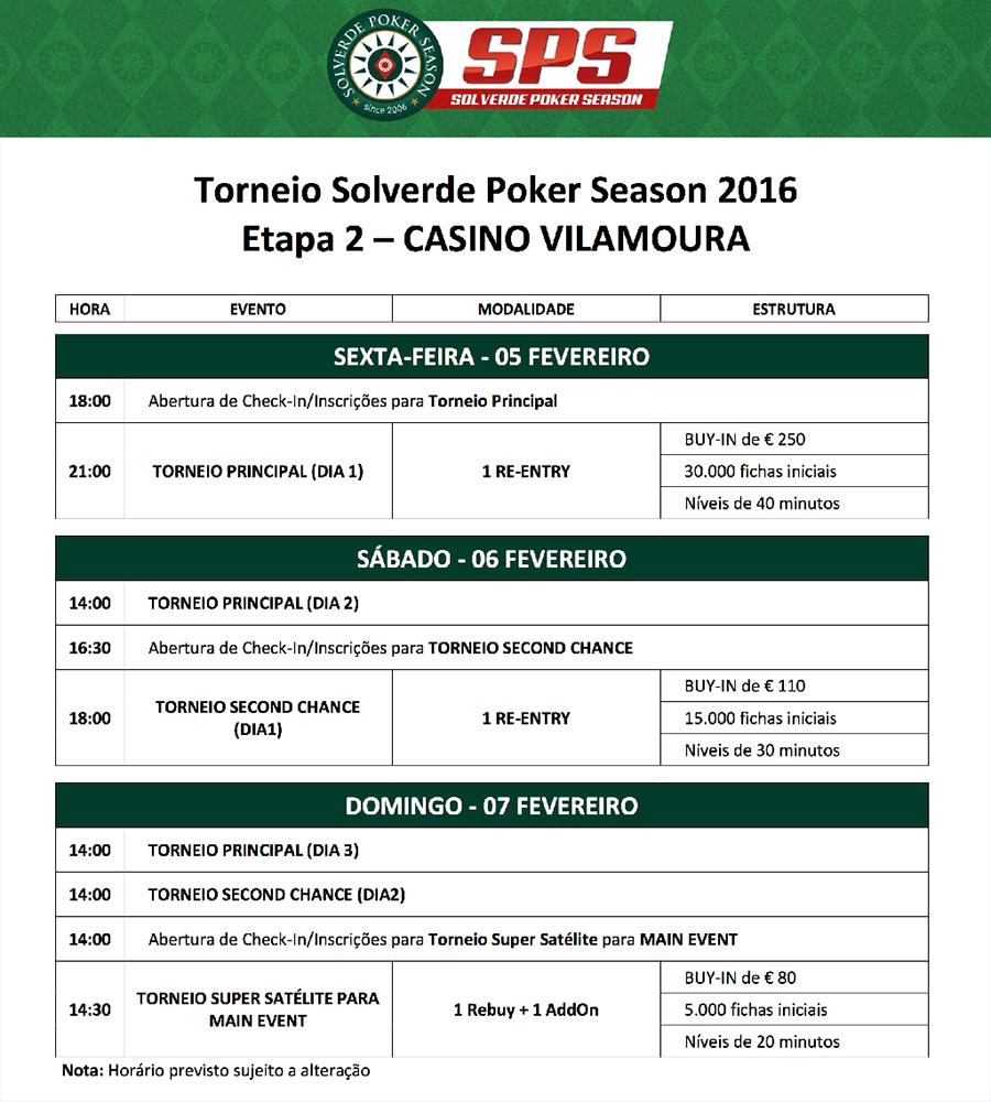 Solverde Poker Season 2016 - Etapa #2 Arranca Hoje às 21:00 em Vilamoura 101
