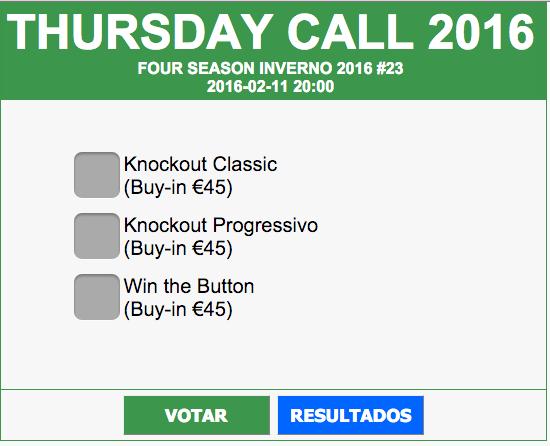 Thursday Call no Casino de Espinho Amanhã (11 Fev.) - Vota Já! 101