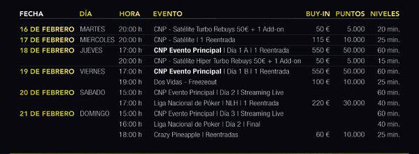 Casino Cirsa Valencia recibe la primera parada del Circuito Nacional de Poker 2016 101