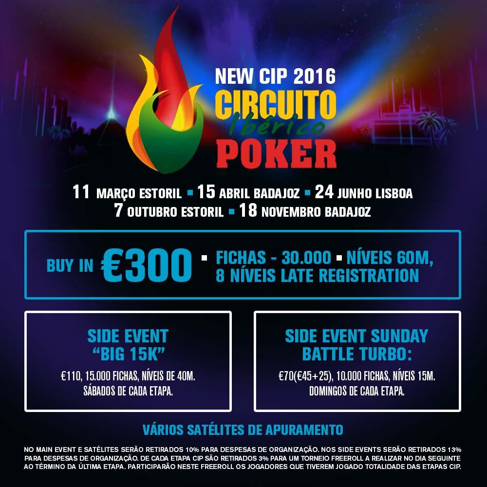Circuito Ibérico de Poker 2016: 5 Etapas e Algumas Novidades 101