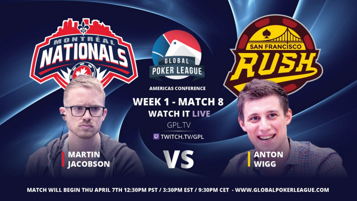 GPL Week 1 Martin Jacobson vs Anton Wigg