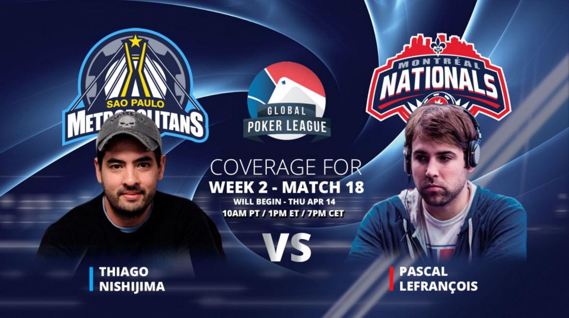 GPL Week 2 Thiago Nishijima vs Pascal Lefrancois