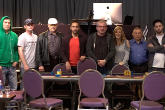 The Spring Super Stack final table.