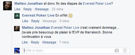 Fin de partie pour Everest Poker France 101