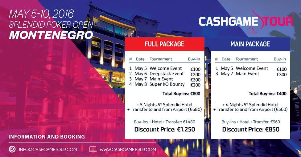Splendid Poker Open od 5. do 10. Maja u Crnoj Gori 101