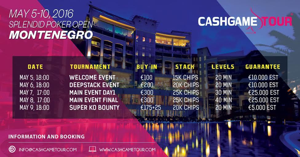 Splendid Poker Open od 5. do 10. Maja u Crnoj Gori 104