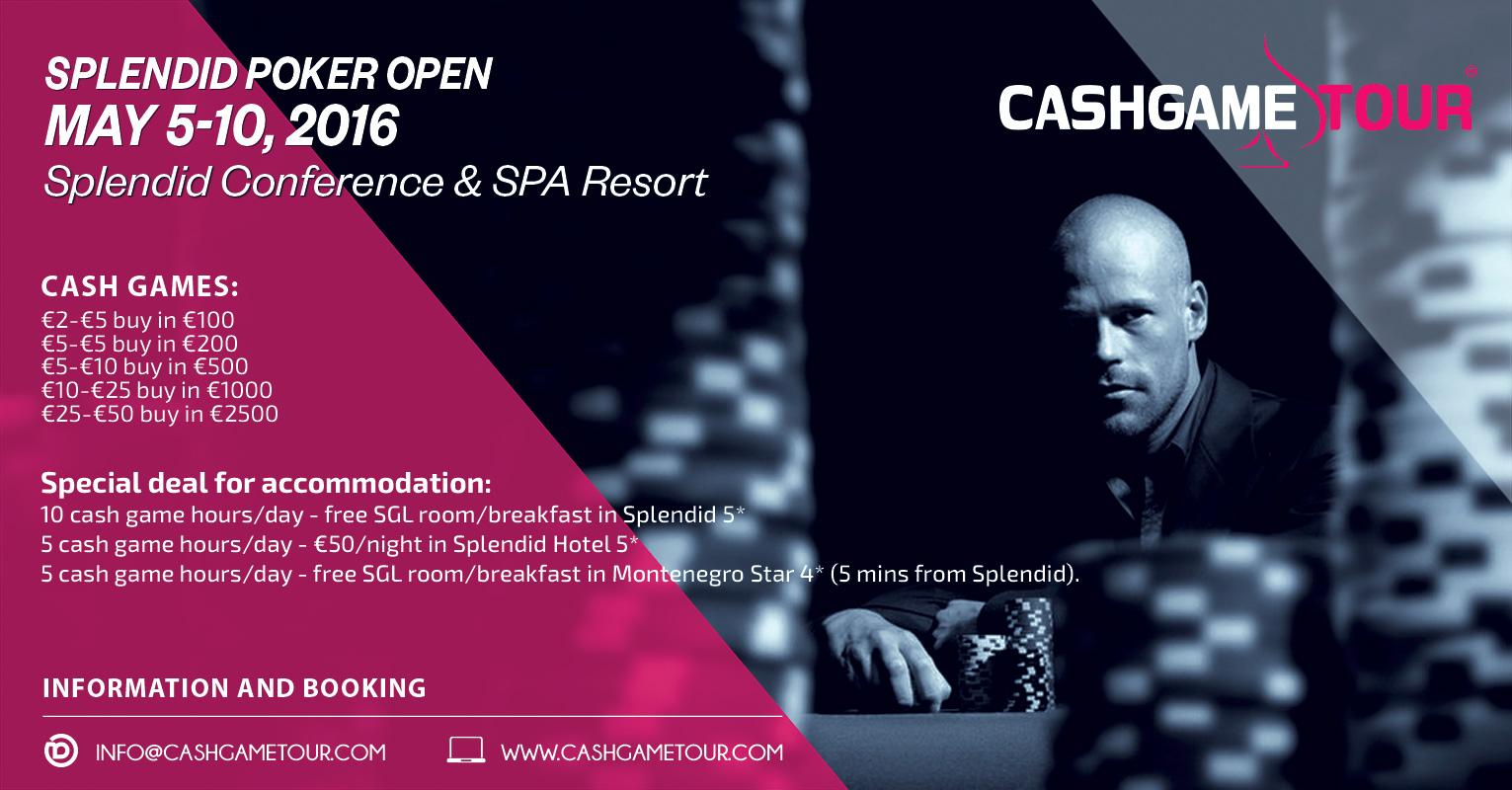 Splendid Poker Open od 5. do 10. Maja u Crnoj Gori 105