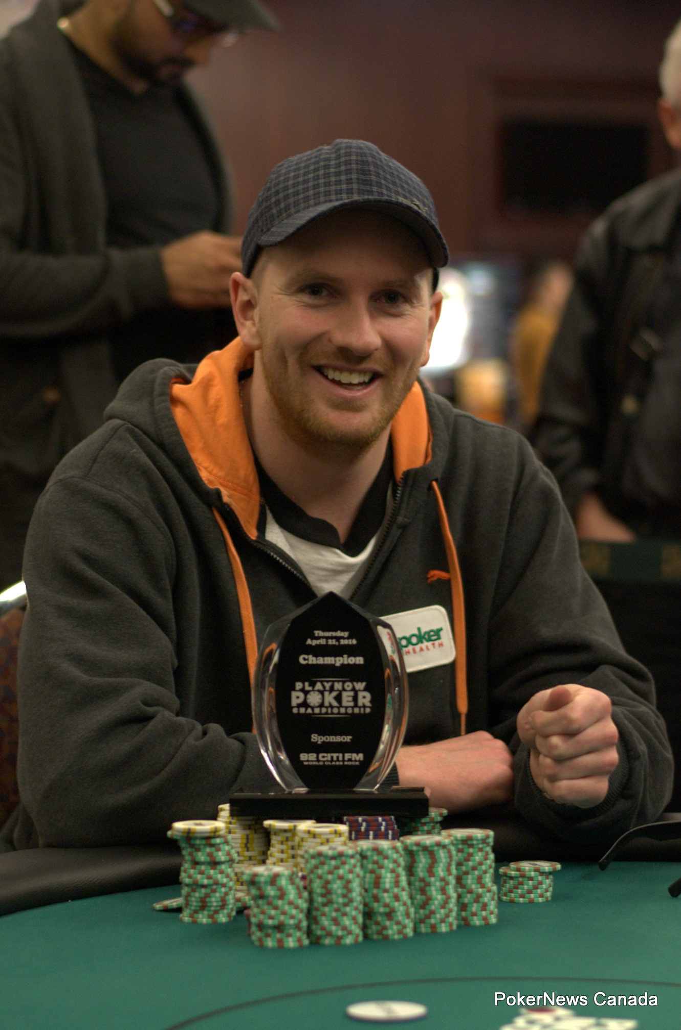 Eric Johnson won the second event of the PlayNow Poker Championship