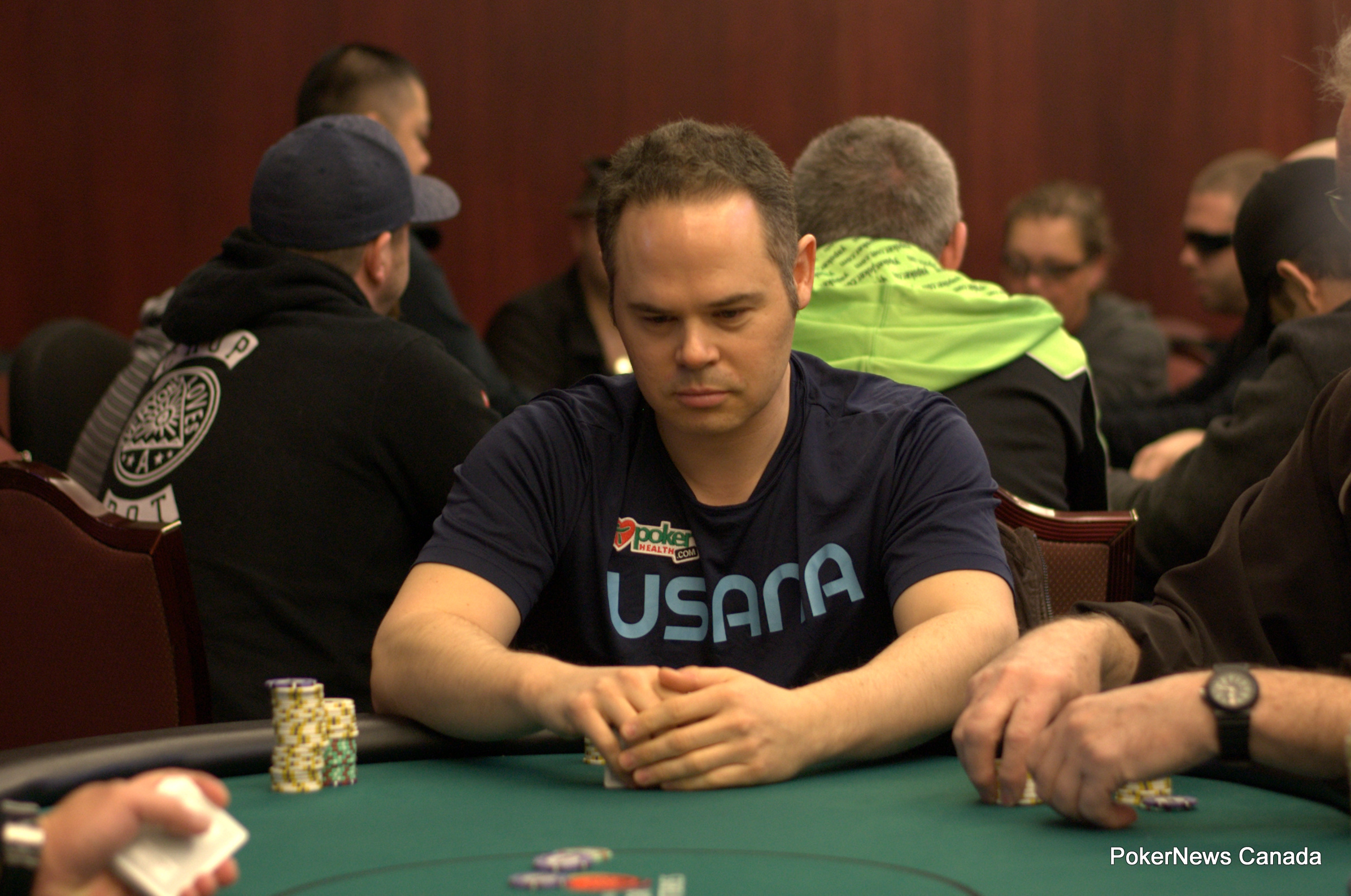 Mark Golub finished runner-up in the PlayNow Poker Championship Main Event.