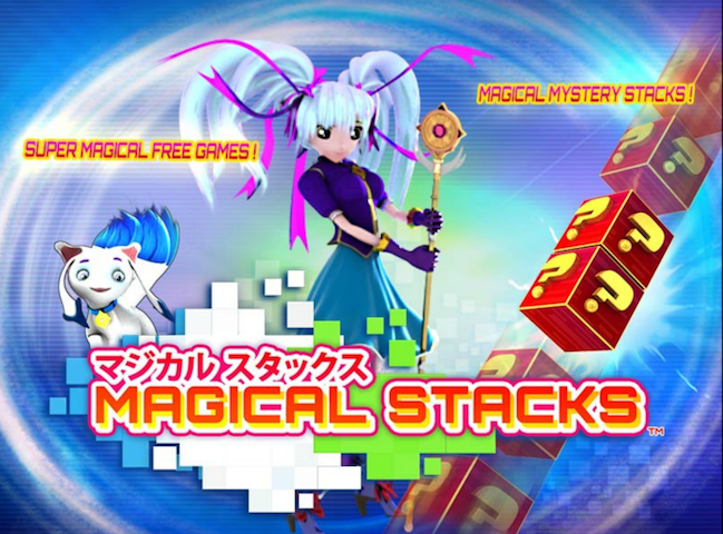 Magical Stacks - A new anime-themed slots game